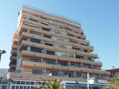 Fachada Invierno Apartamentos Bernat Pie de Playa 3000 Oropesa del mar