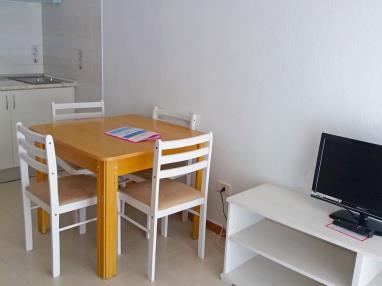Salón comedor España Costa Azahar Oropesa del mar Apartamentos Bernat Pie de Playa 3000
