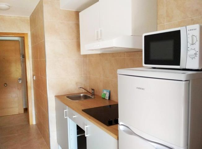 Kitchen Appartements Illa de Arousa 3000 ILLA DE AROUSA, A