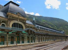 Estación de Canfranc Canfranc Pirineo Aragonés España