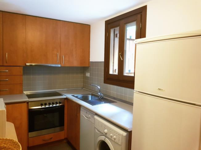 Cocina Apartamentos Biescas 3000 Biescas
