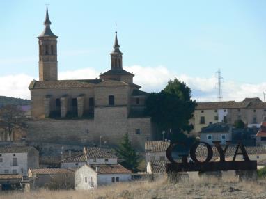 Fuendetodos y Goya Espagne Saragosse