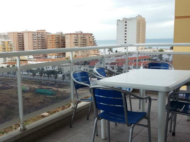 Terraza Apartamentos Oropesa del Mar Suites 3000 Vista Mar Oropesa del mar
