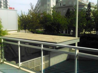 Terraza Apartamentos Gandia Universidad 3000 Gandia