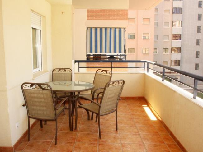 Terraza Apartamentos Bonaire 3000 Oropesa del mar