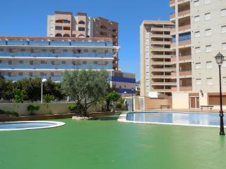 Fachada Verano España Costa Azahar Oropesa del mar Apartamentos Bonaire 3000
