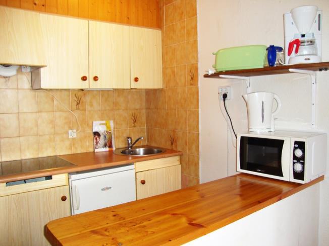 Kitchen Appartements Lake Placid 3000 PAS DE LA CASA