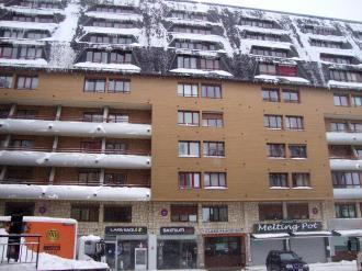 Fachada Invierno Andorra Estación Grandvalira Pas de la Casa Apartamentos Lake Placid 3000