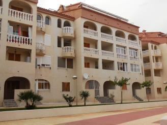 Fachada Invierno España Costa Azahar Alcoceber Apartamentos Costa Azahar 3000