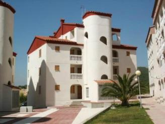 Façade Winte Espagne Costa del Azahar ALCOSSEBRE Appartements Costa Azahar 3000
