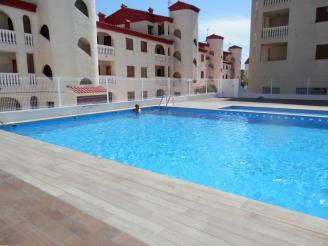 Fachada Verano España Costa Azahar Alcoceber Apartamentos Costa Azahar 3000