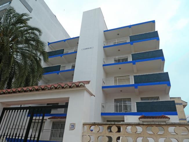 Fachada Invierno Apartamentos Gandia-Daimuz 3000 Daimuz