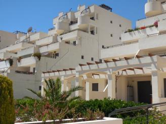 Façade Winte Espagne Costa del Azahar PENISCOLA Appartements Font Nova 3000