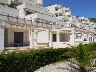 Façade Summer Espagne Costa del Azahar PENISCOLA Appartements Font Nova 3000