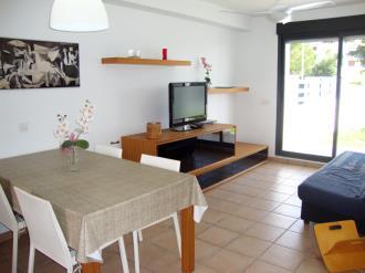 Salón España Costa Azahar Peñiscola Apartamentos Font Nova 3000