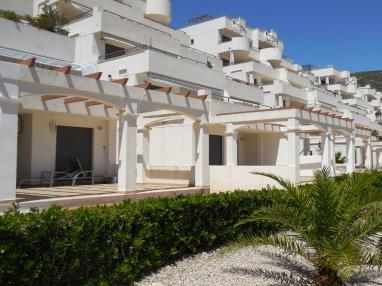Fachada Verano España Costa Azahar Peñiscola Apartamentos Font Nova 3000