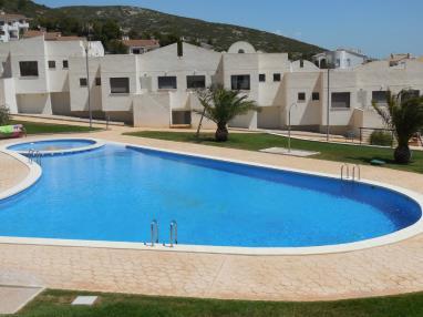 Piscina España Costa Azahar Peñiscola Apartamentos Font Nova 3000