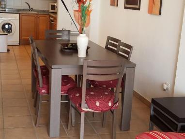 Salón comedor España Costa Azahar Peñiscola Apartamentos Font Nova 3000