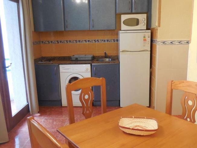 Kitchen Appartements Tres Carabelas 3000 ALCOSSEBRE