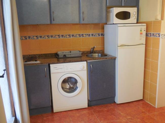 Cocina Apartamentos Tres Carabelas 3000 Alcoceber