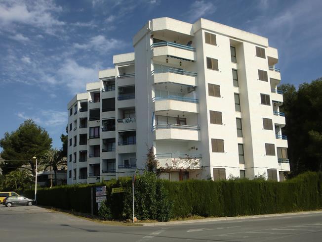 Fachada Verano Apartamentos Tres Carabelas 3000 Alcoceber