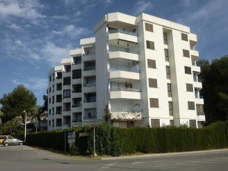 Fachada Verano España Costa Azahar Alcoceber Apartamentos Tres Carabelas 3000