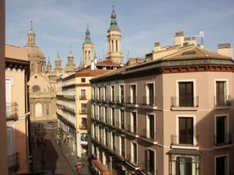 Fachada Invierno España Zaragoza Zaragoza Apartamentos El Pilar Suites 3000