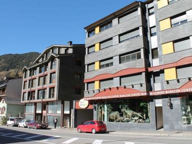 Fachada Invierno Andorra Estación Grandvalira Tarter, el Apartamentos La Mercería 3000