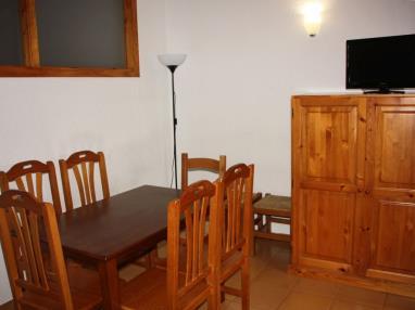 Salón comedor Andorra Estación Grandvalira Pas de la Casa Apartamentos Cims Pas 3000