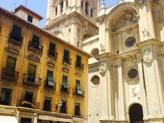 Vistas España Andalucía Granada Granada Catedral Plaza 3000
