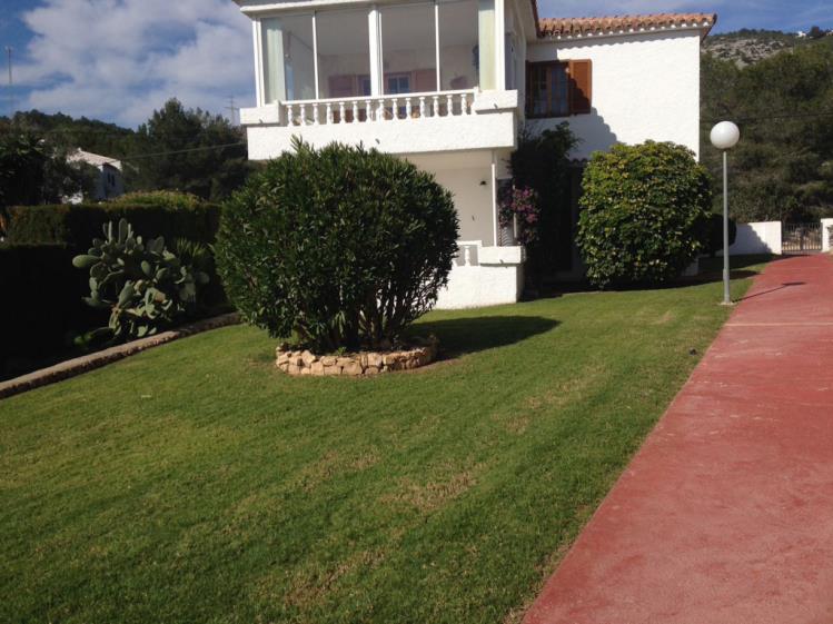 Jardín Apartamentos Palma Blanca 3000 Alcoceber