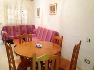 Salón comedor España Costa Azahar Alcoceber Apartamentos Palma Blanca 3000