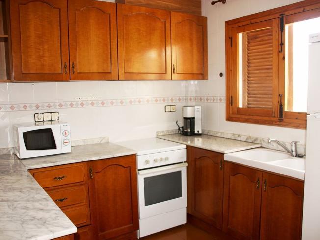 Kitchen Appartements Hibiscus 3000 ALCOSSEBRE