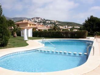 Piscina España Costa Azahar Alcoceber Apartamentos Hibiscus 3000
