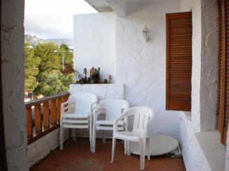 Terraza España Costa Azahar Alcoceber Apartamentos Hibiscus 3000