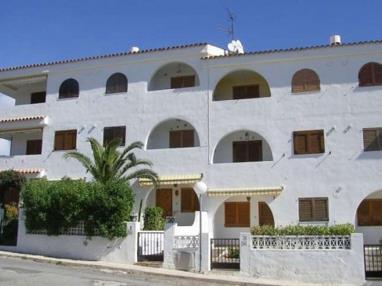 Fachada Invierno España Costa Azahar Alcoceber Apartamentos Hibiscus 3000