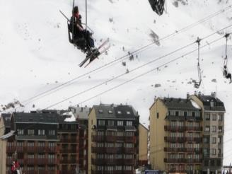 Balcón Andorra Estación Grandvalira Pas de la Casa Apartamentos Frontera Blanca 3000