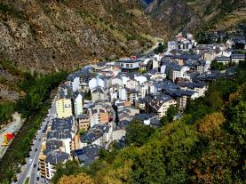 Vista aérea Sant Julià Andorra Andorra Zona Centro Sant Julia de Loria