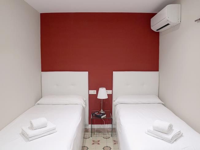 Dormitorio Apartamentos Mesones 18 3000 Granada