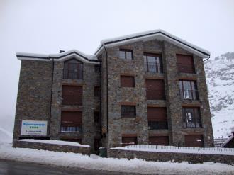Fachada Invierno Andorra Estación Grandvalira Soldeu Apartamentos La Pleta 3000