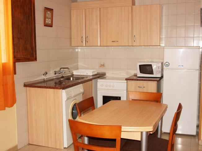 Kitchen Appartements Playa Romana 3000 ALCOSSEBRE