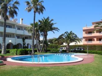 Fachada Invierno España Costa Azahar Alcoceber Apartamentos Playa Romana 3000