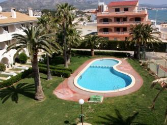 Fachada Verano España Costa Azahar Alcoceber Apartamentos Playa Romana 3000