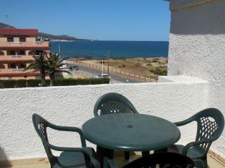 Terraza España Costa Azahar Alcoceber Apartamentos Playa Romana 3000