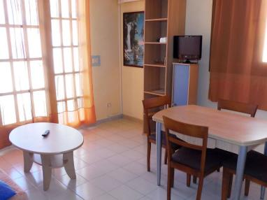 Salón comedor España Costa Azahar Alcoceber Apartamentos Playa Romana 3000