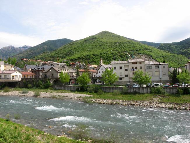 Spain Aragonese Pyrenees BIESCAS