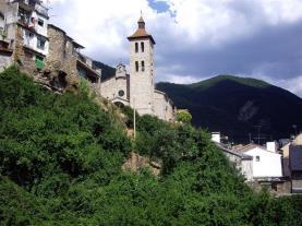 Biescas Pirineo Aragonés España