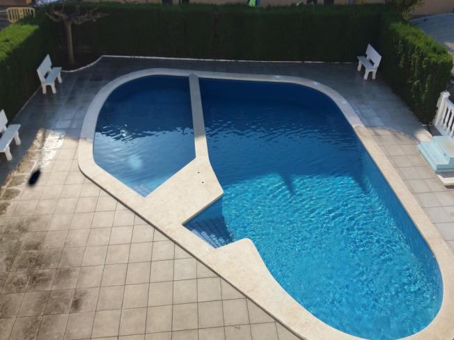 Piscina Apartamentos Entreplayas 3000 Oropesa del mar