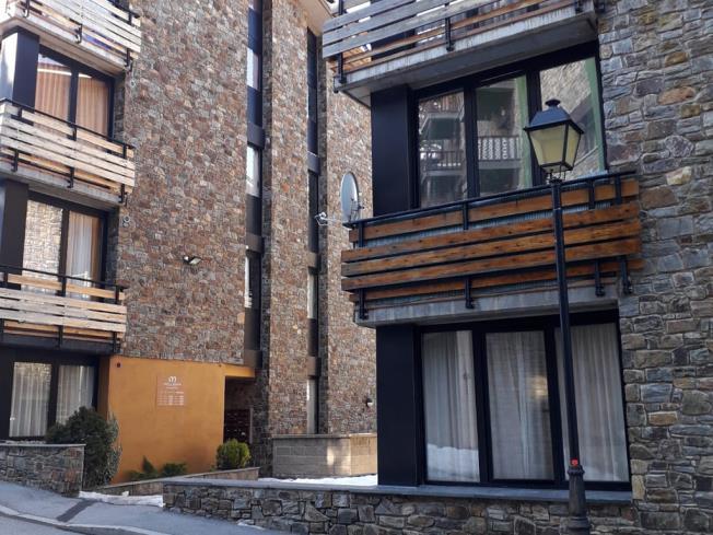 Fachada Verano Apartamentos Canillo Ribagrossa 3000 Canillo