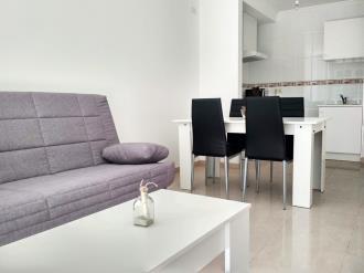 Salón comedor España Galicia - Rías Bajas Revolta, a - Noalla - Sanxenxo Apartamentos Playa de la Lanzada 3000